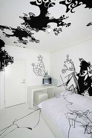 black-white-room