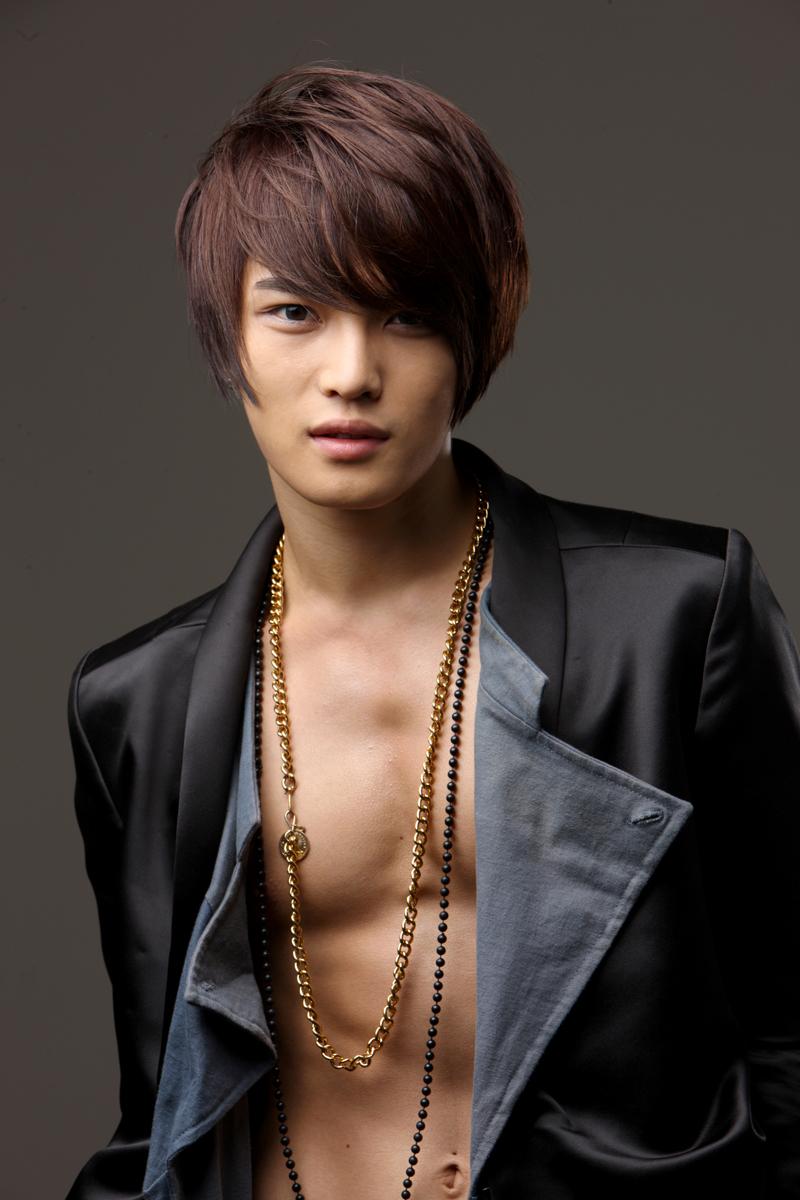 Picture kpop male idol uniq hair style ver